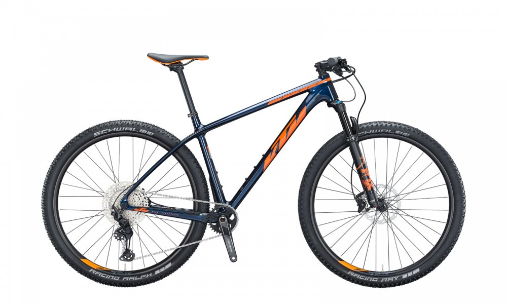 KTM MYROON ELITE   M / 43cm   eveblue (orange+black)