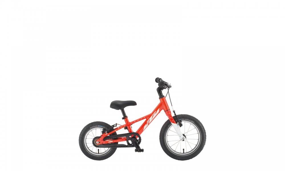 KTM Kids bike WILD CROSS 12cm   metallic fire orange (white)