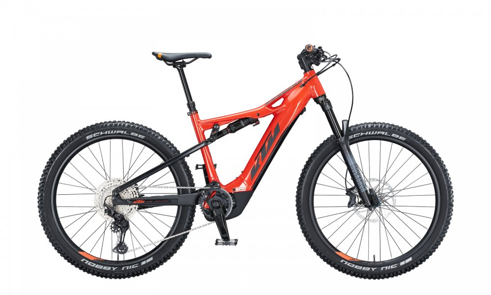 KTM MACINA LYCAN 271   M / 43cm   fire orange (black)