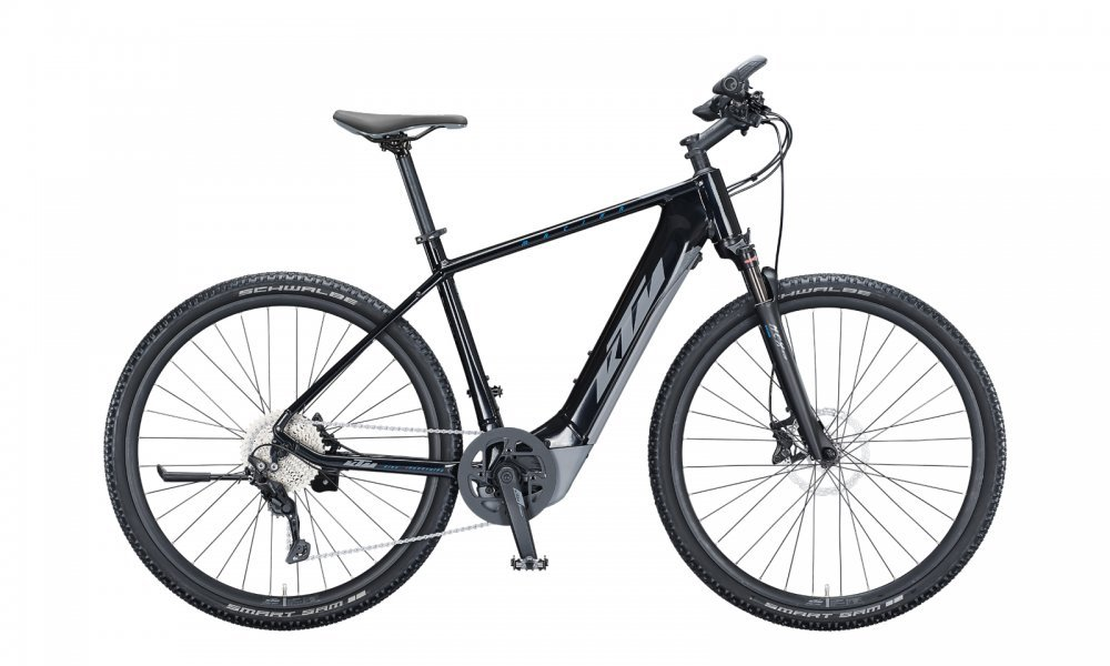 KTM MACINA CROSS 620   H 51cm   metallic black (grey+blue)
