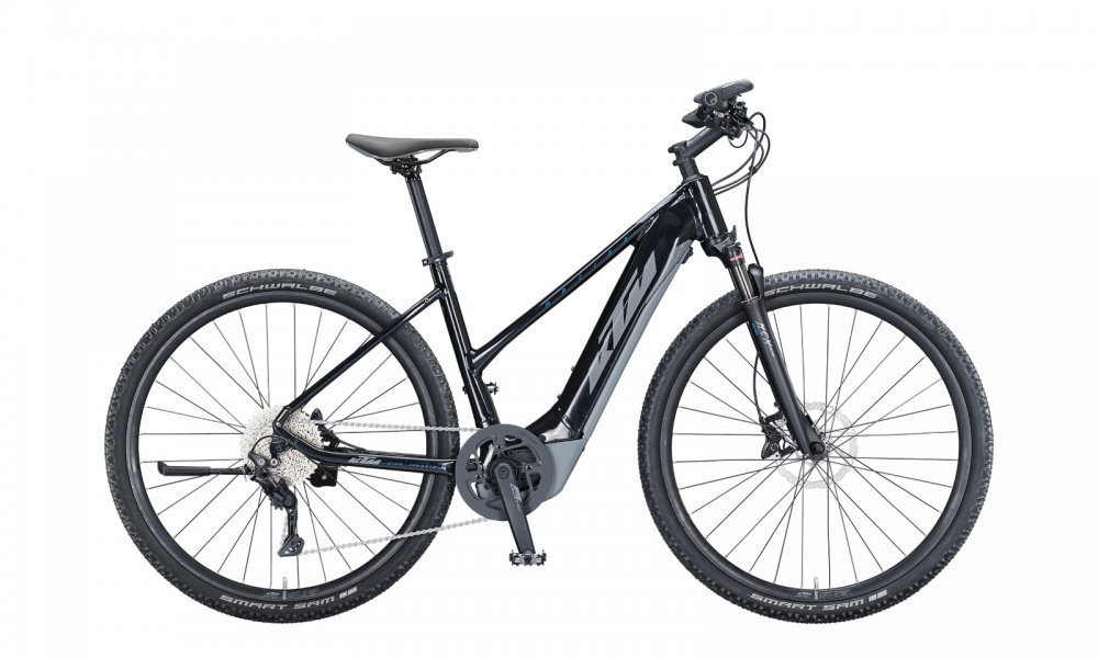 KTM MACINA CROSS 620   D 51cm   metallic black (grey+blue)