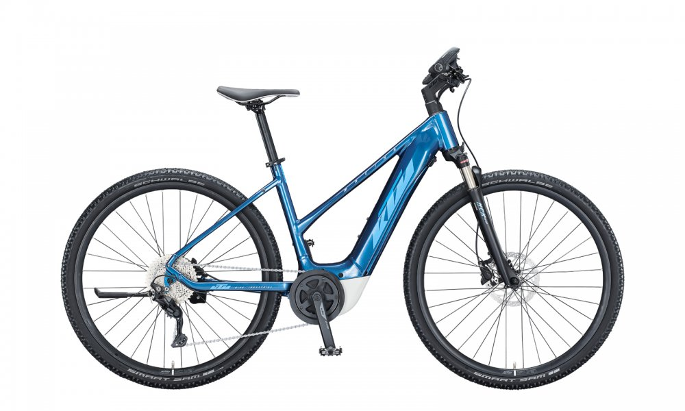 KTM MACINA CROSS P610   D 46cm   denim (blue+white)
