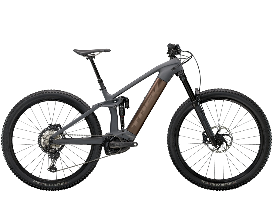Trek Rail 9.8 XT L Solid Charcoal to Root Beer Ano Decal