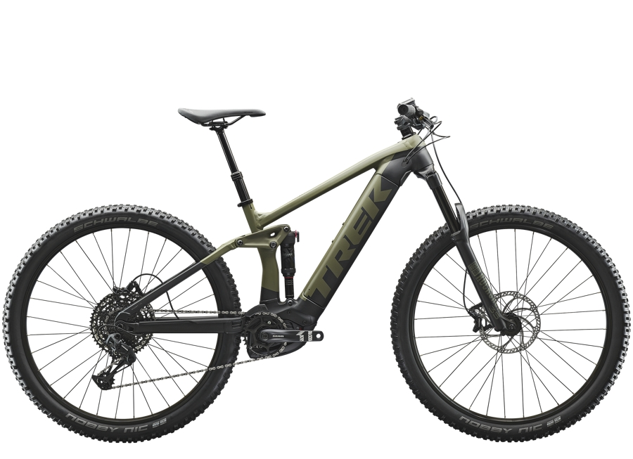 Trek Rail 5 625Wh XL Matte Olive Grey/Trek Black
