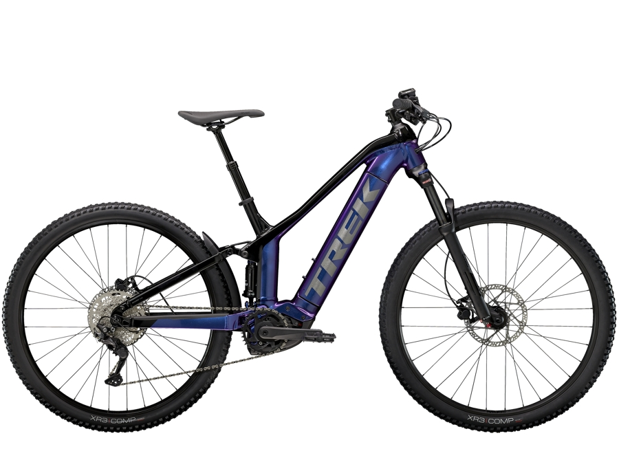 Trek Powerfly FS 4 625 L (29  wheel) Purple Flip/Trek Black