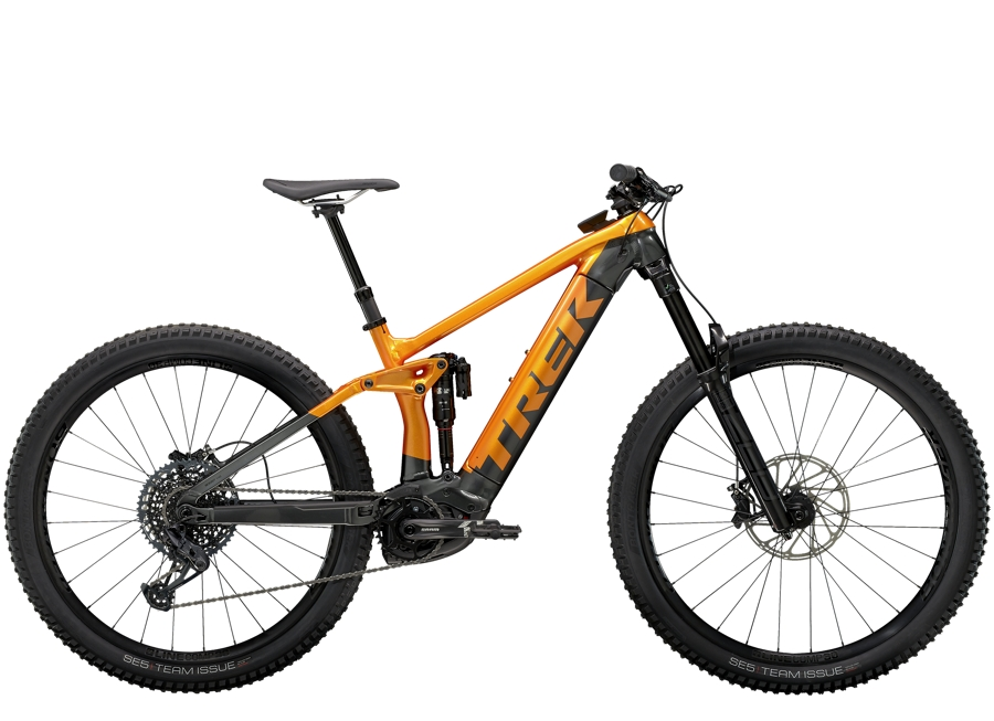 Trek Rail 9 L Factory Orange/Lithium Grey