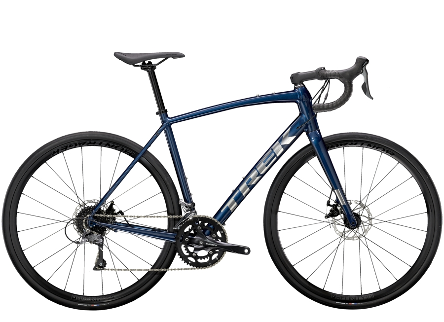 Trek Domane AL 2 Disc 49 Gloss Mulsanne Blue/Matte Trek Black